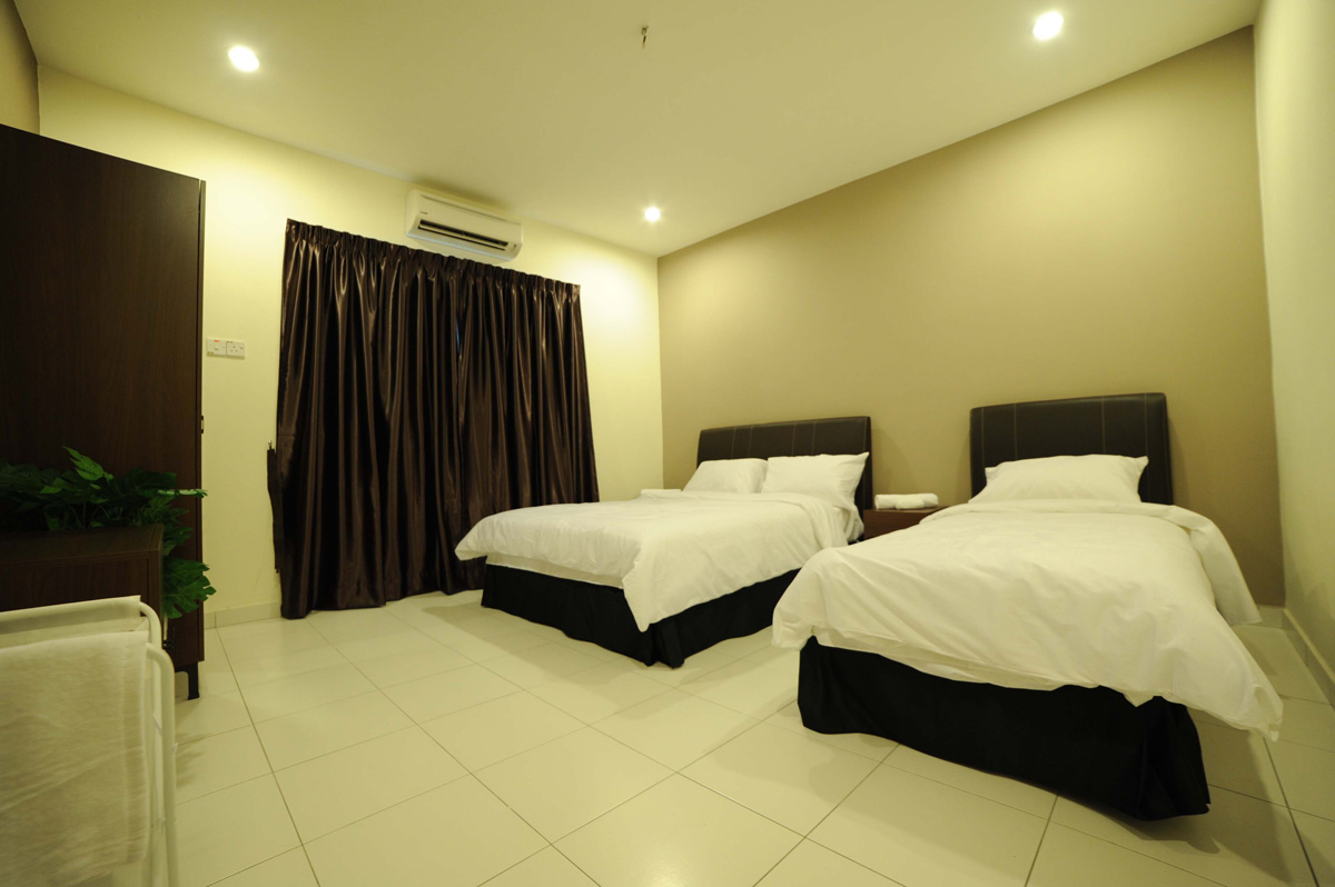 3 bedroom family the osborne ipoh serviced apartments for Bed 3